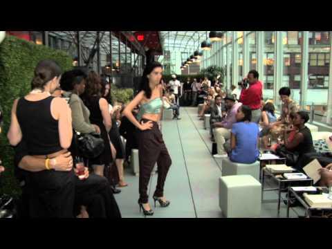 Soham Dave Eco Fashion Collection New York Fashion Week Party @ Bar Basque