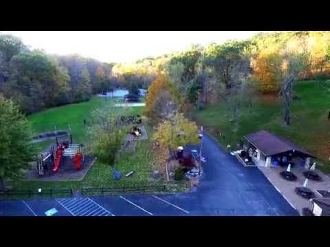 DJI Phantom 3 Professional - Aliquippa, PA - Revisit Hopewell Community Park - Lake Flyover