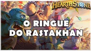 HEARTHSTONE - TUDO SOBRE A NOVA EXPANSÃO O RINGUE DO RASTAKHAN!
