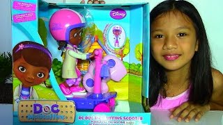 Disney RC Doc McStuffins Scooter - Doc McStuffins Doll