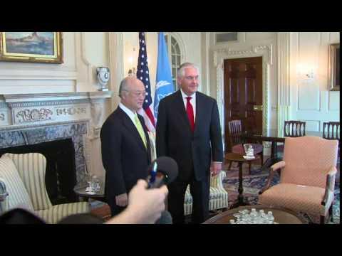 Secretary Tillerson Meets