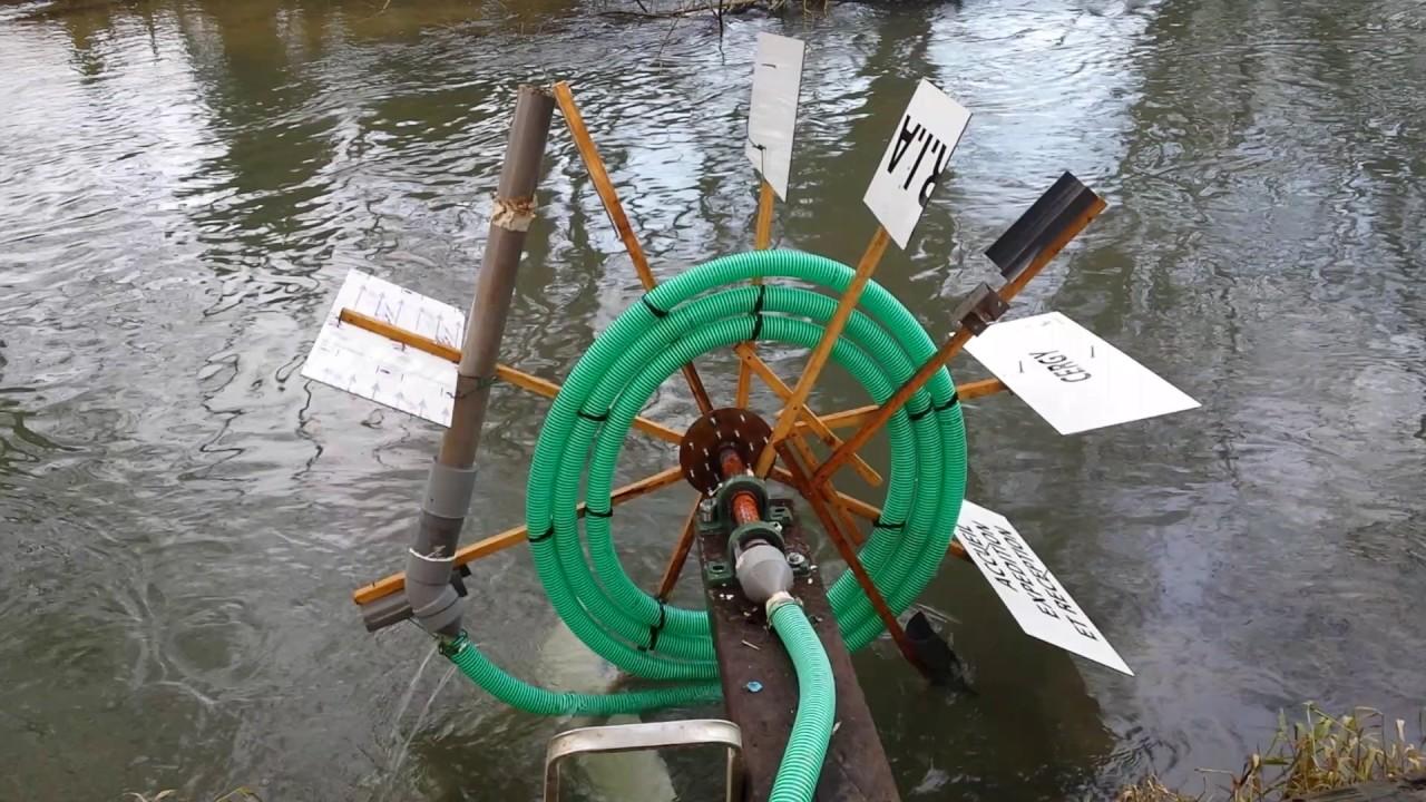 Comment faire une pompe eau youtube - Fabriquer une horloge a eau ...