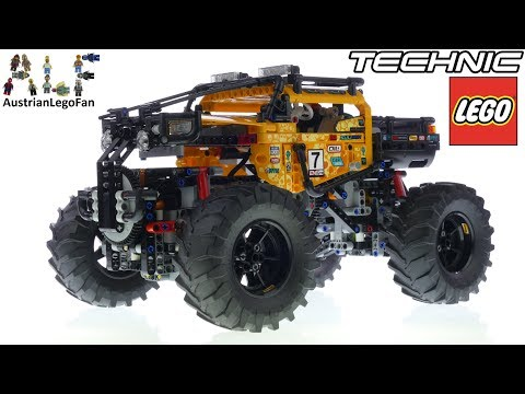 Lego Technic 42099 4X4 X-treme Off Roader Speed Build and Test Drive