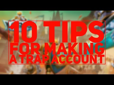Lords Mobile | 10 Tips For Making A Trap Account