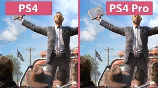 [4K] Far Cry 5 – PS4 vs. PS4 Pro Graphics Comparison