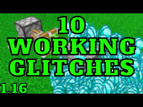 10 Glitches In Minecraft Bedrock Edition 1.16.201 For Ps4,  Xbox, MCPE, Switch, WIndwos 10!