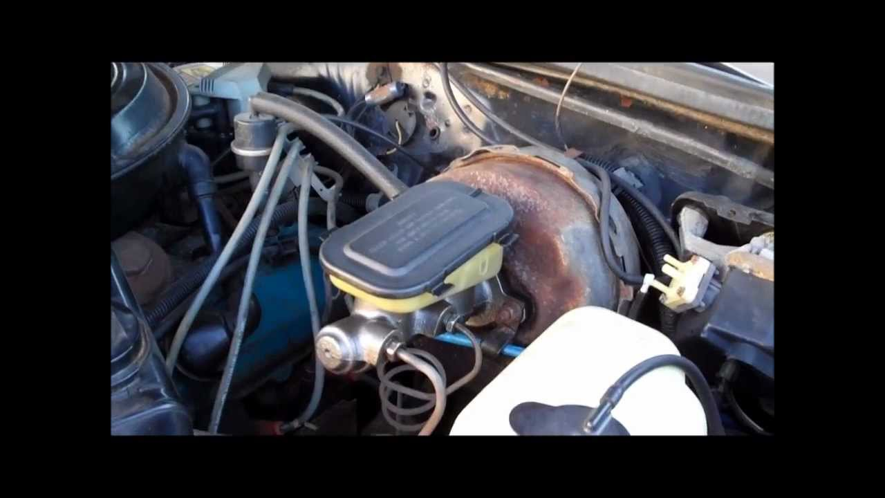 How To Master Cylinder Replacement Classic GBody Garage