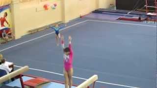 Спортивная гимнастика. Ангелина Козлова.