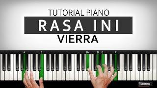 Belajar Piano RASA INI - VIERRA | PART I | Belajar Piano Keyboard