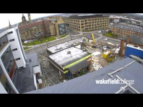 Wakefield College Demolition of 'C' Block