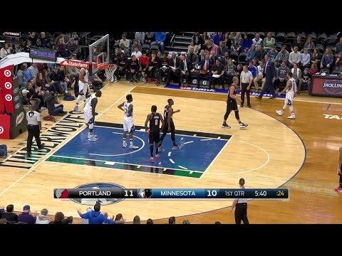 Quarter 1 One Box Video :Timberwolves Vs. Trail Blazers, 1/1/2017 12:00:00 AM