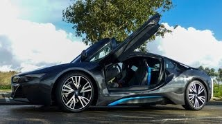 VE Driving BMW i8 2014-11