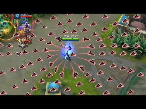 HAYABUSA WITH NO COOLDOWN : MOBILE LEGENDS BANG BANG