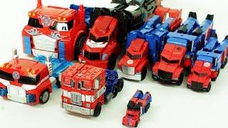 Transformers Optimus Prime Transformation Robot Car Toys 트랜스포머 옵티머스프라임 8대 자동차 장난감 로봇 변신 동영상