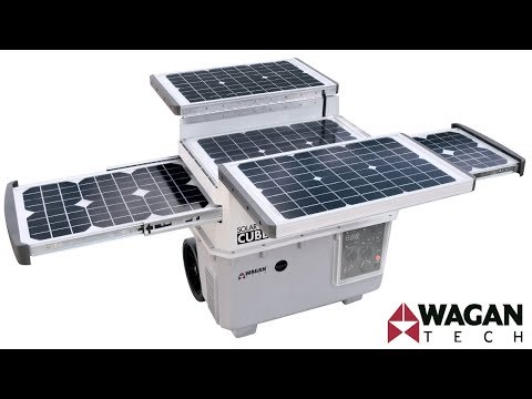 Wagan Tech Solar e Power Cube 1500 (#2546) Solar Generator