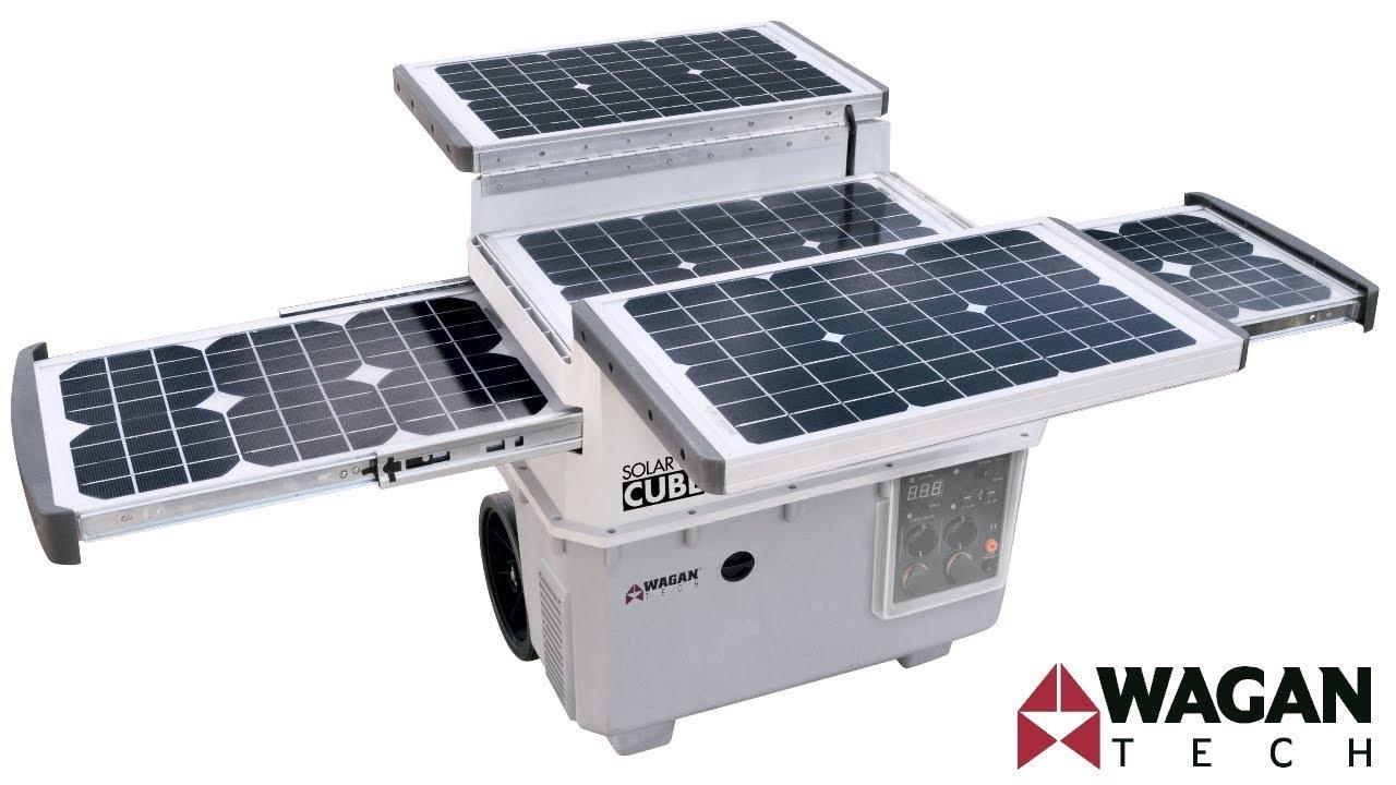 Wagan Tech Solar E Power Cube 1500 2546 Solar Generator
