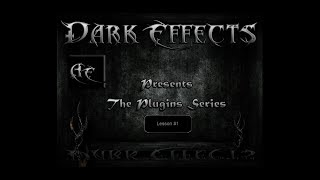 Dark Effects Lessons for After Effects Plugins