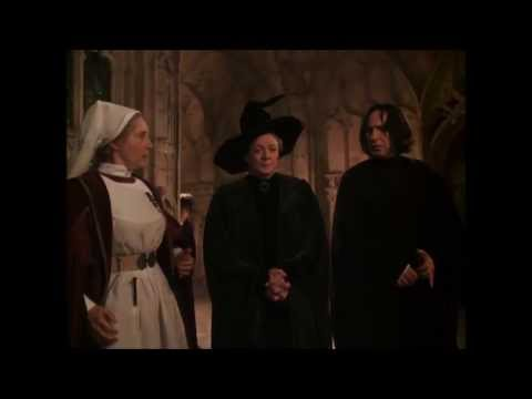 Harry Potter and the Chamber of Secrets - Proffesor Snape and Mcgonagall make fun of Prof. Lockhart