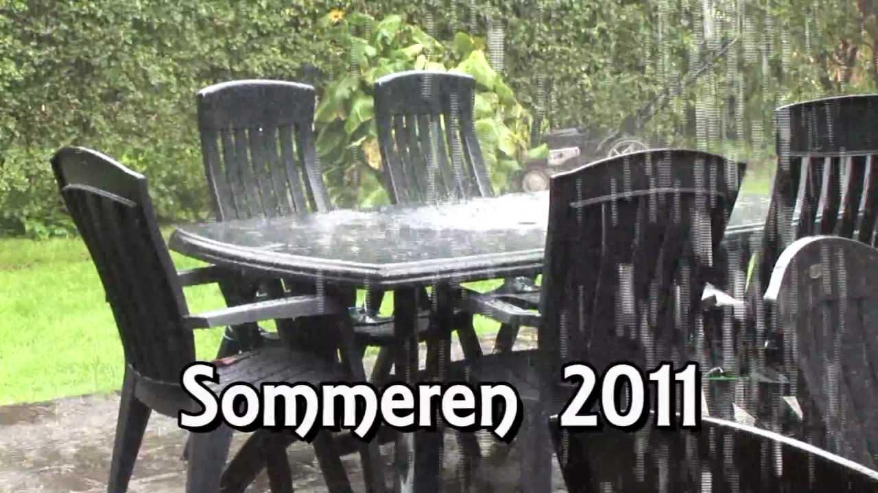 Ekstrem regn Nivå i Nordsjælland - sommeren 2011