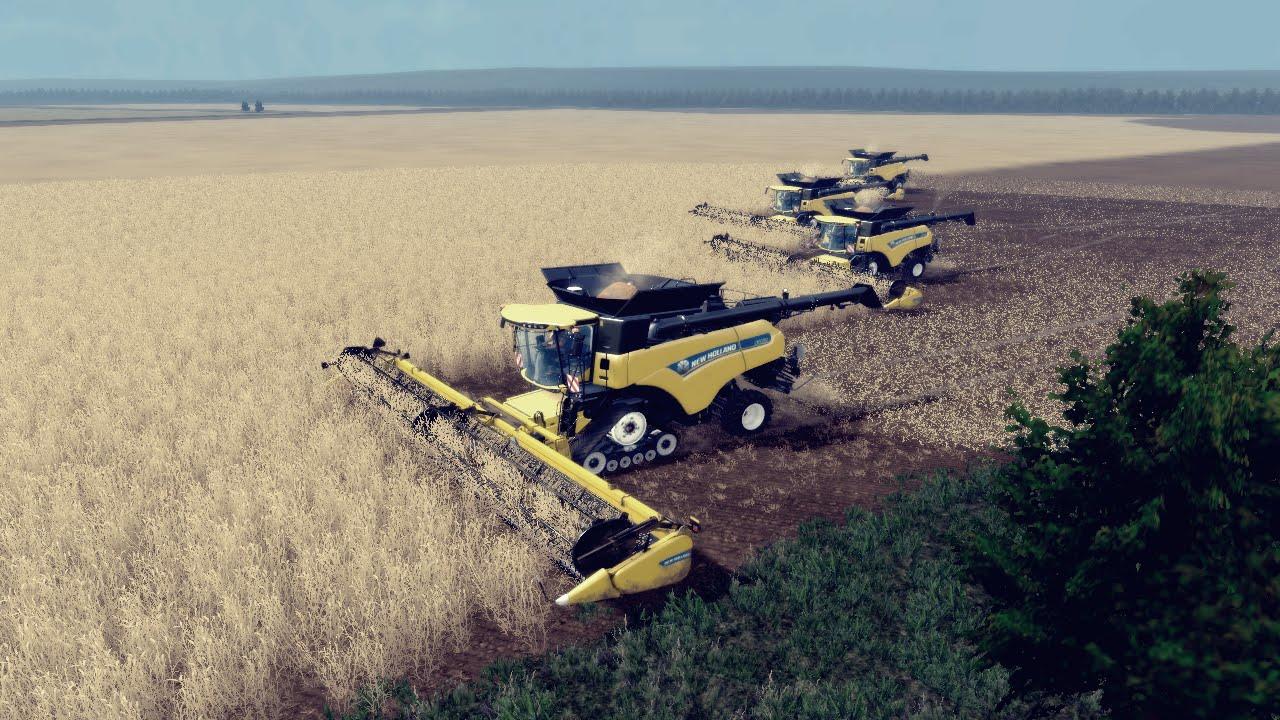 Canadian Map Fs17%0A Big Harvest XXXXL with New Holland CR        Mig Map   Farming Simulator        HD   YouTube