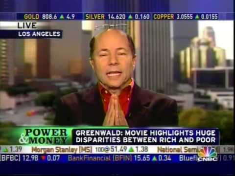 Robert Greenwald discusses the War on Greed on CNBC