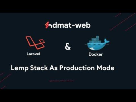 Laravel Docker lemp stack