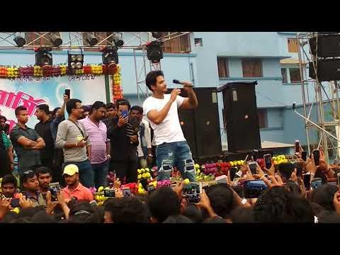 Actor Yash Dasgupta (অরণ্য সিংহ রায়) best live at Ranaghat college
