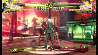 Persona 4 Arena Arcade: The Sister-Complex Kingpin of Steel - Yu Part 1