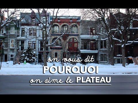Montréal // On vous dit pourquoi on aime le Plateau  •  À NOUS, LES CARIBOUS ! •