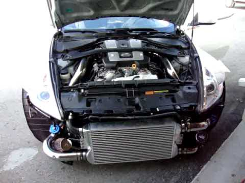 370z Twin Turbo At Horsepower Logic Limitless Performance Youtube
