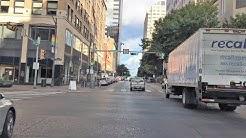 Driving Downtown - Austin City 4K - Texas USA