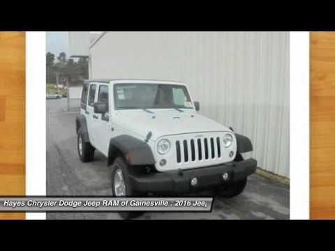 2016 jeep wrangler gainesville ga g636030 youtube. Black Bedroom Furniture Sets. Home Design Ideas