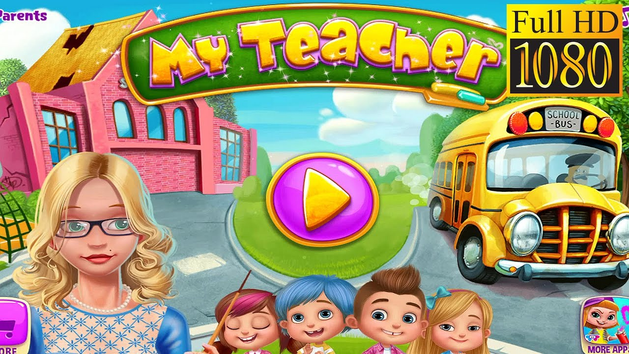 My Teacher – Classroom Play Game Review 1080p Official TabTale Role Playing 2016