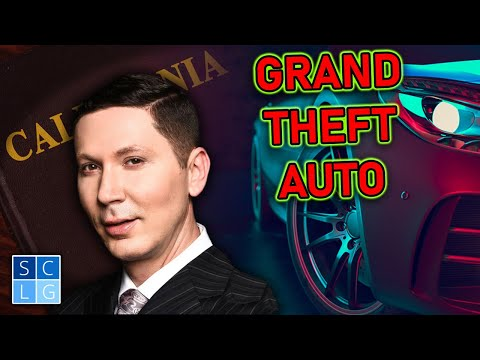 "Fighting charges of ""Grand Theft"" in California"