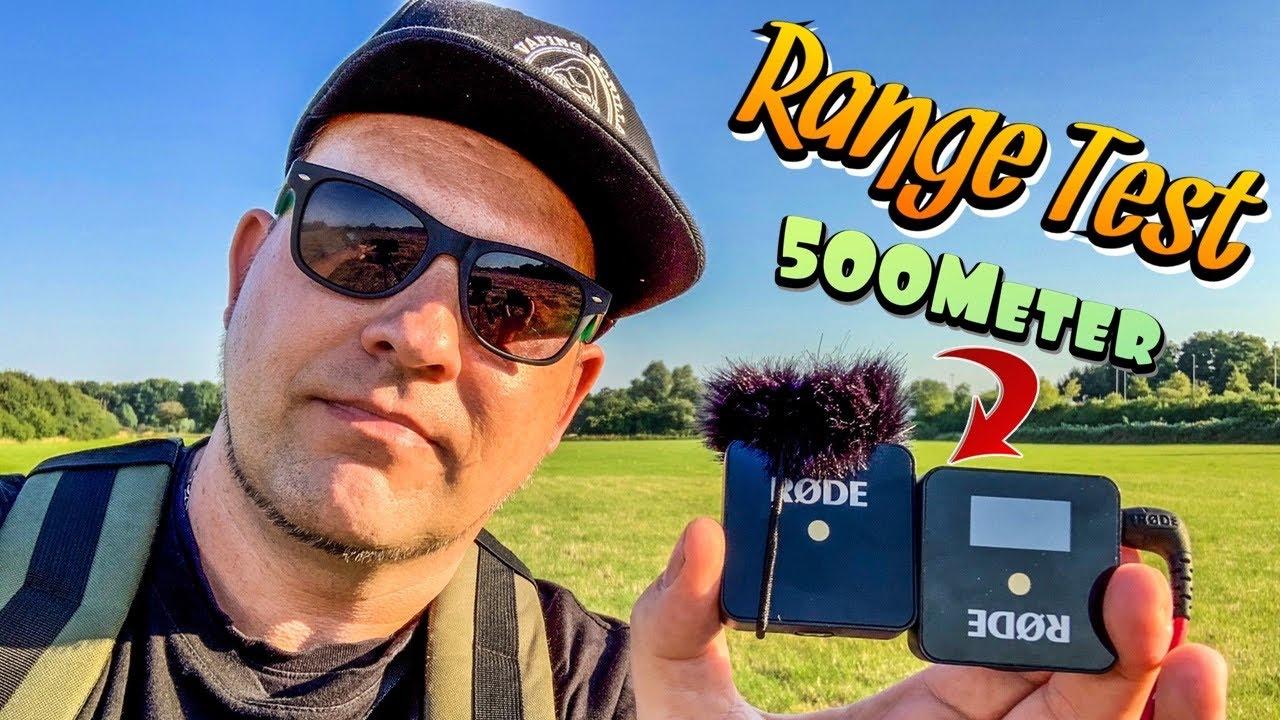 Rode Wireless Go VideoMic Range Test/ Hausfriedensbruch auf der Wiese🙈🙈🙈