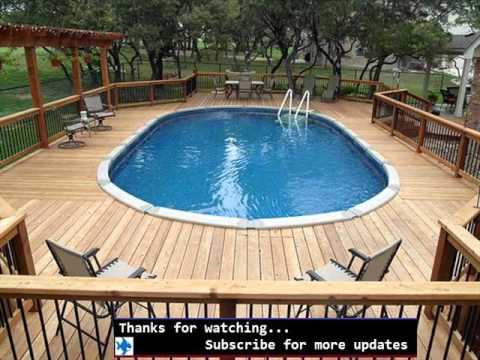 Bamboo Fencing Around Pool | Fences Design Collection