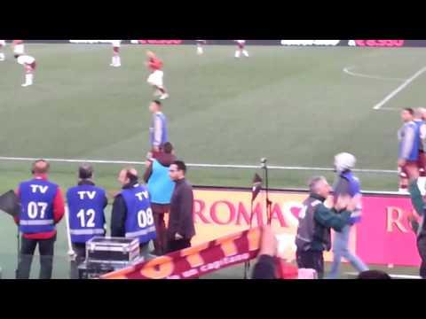 Francesco Totti Substitution & Goals - AS Roma v. Torino FC (April 20th, 2016)