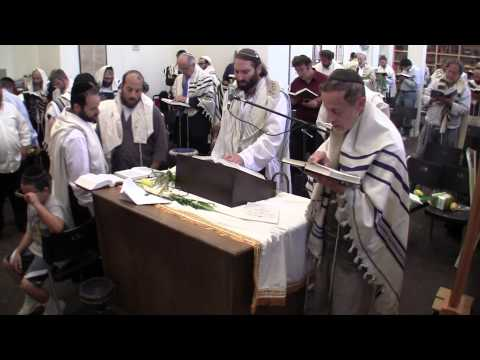 Watch orthodox Jewish worship service- Feast of Tabernacles