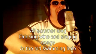 ALL SUMMER LONG (C). Original song (LYRICS). Frank Falvo