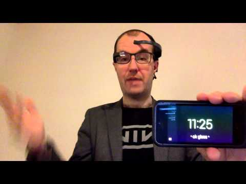 MindRDR Demo - Google Glass controlled by Neurosky Mindwave