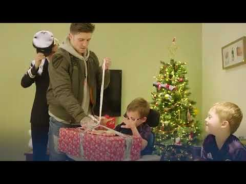 Watch Rangers star Josh Windass deliver ultimate Christmas to cerebral palsy sufferer   Daily Record