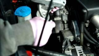 2003-2007 Honda Accord Auto Tensioner remove and install