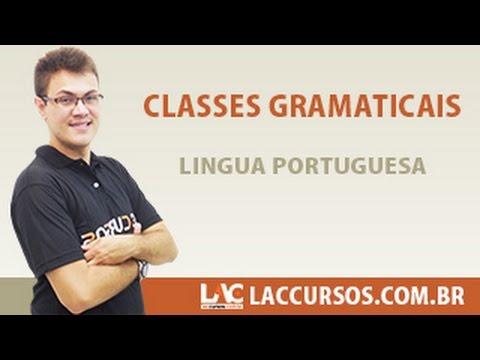Aula 01/38 - Classes Gramaticais - Língua Portuguesa - Sidney Martins