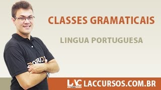 Classes Gramaticais - Língua Portuguesa - Sidney Martins
