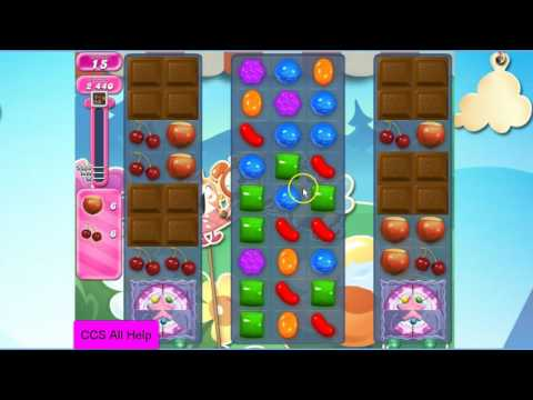Candy Crush Saga Level 2485 NO BOOSTERS Cookie