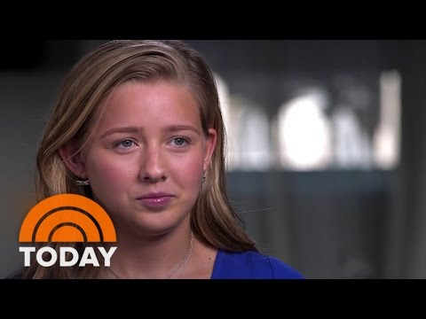 Interview on the Today Show discusses her experience as a rape survivor, and an activist.