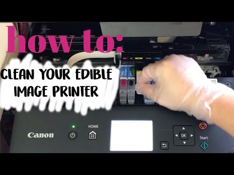 HOW TO CLEAN YOUR EDIBLE PRINTER | VERY CHERRY CAKES