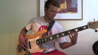 Wake - Hillsong Young and free - Bass cover (HD)