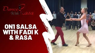 Fadi K & Rasa Pauzaite - ABCD 8 intermediate/ advanced salsa class