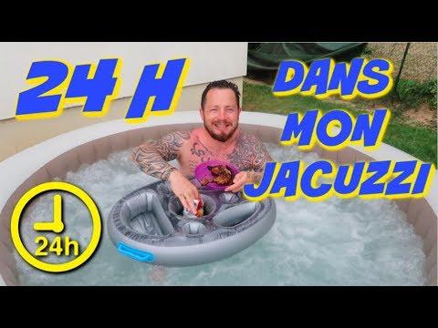 24 HEURES DANS MON JACUZZI !!!